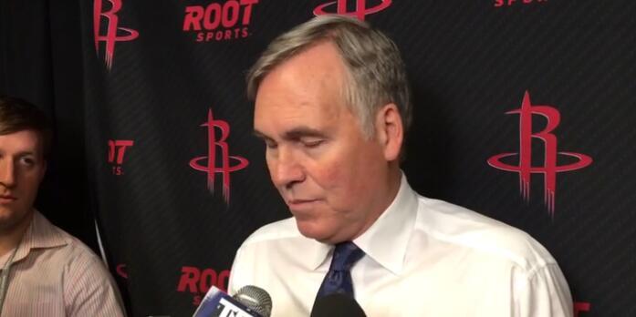 Mike D'Antoni:我當時認為我們下半場能追回來