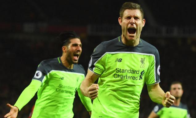 英超前6名交手记录,利物浦领跑积分榜