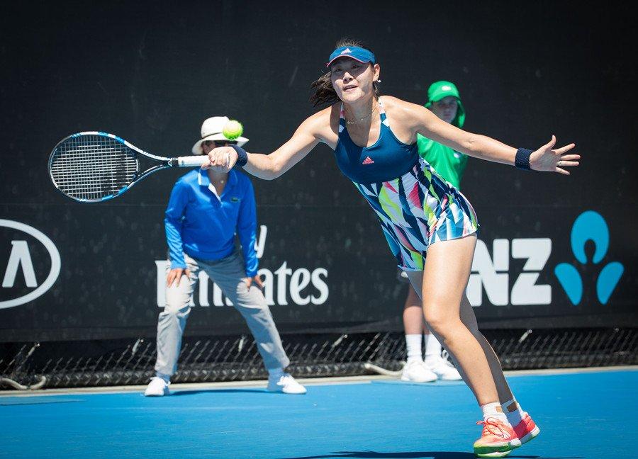 段莹莹顺利过关职业生涯首次晋级澳网第二轮