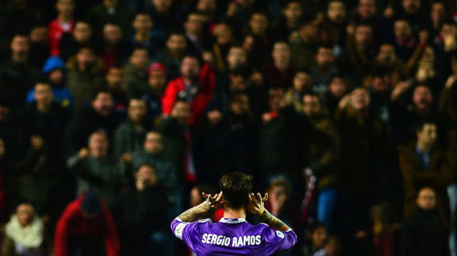 反暴力委员会决定不处罚辱骂拉莫斯的塞维利亚球迷