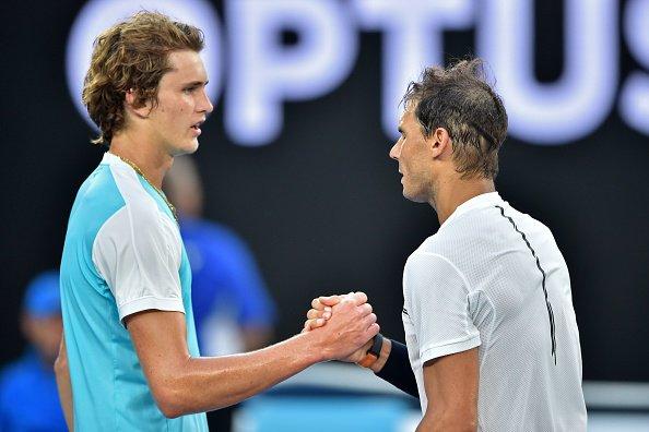 纳达尔五盘险胜兹维列夫 艰难晋级澳网16强
