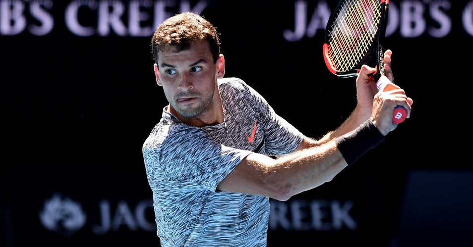 迪米特洛夫完胜戈芬 生涯首进澳网四强