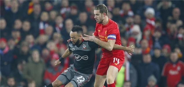联赛杯:沙恩-朗绝杀,利物浦0-1南安普顿无缘决赛
