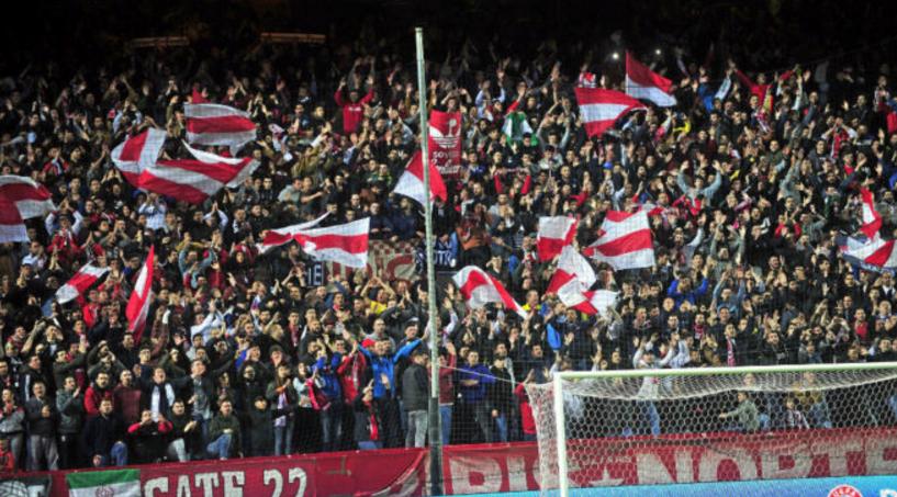 官方:塞维利亚主场被罚关闭北看台一场比赛