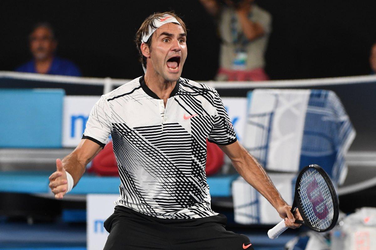澳网决赛费德勒击败纳达尔赢得大满贯第18冠