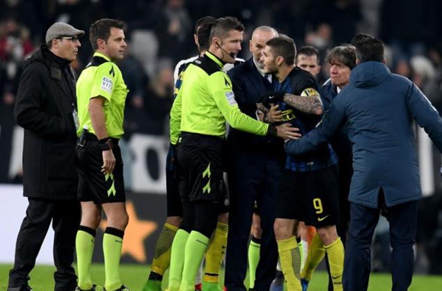意甲联盟宣布:佩里西奇和伊卡尔迪停赛2场