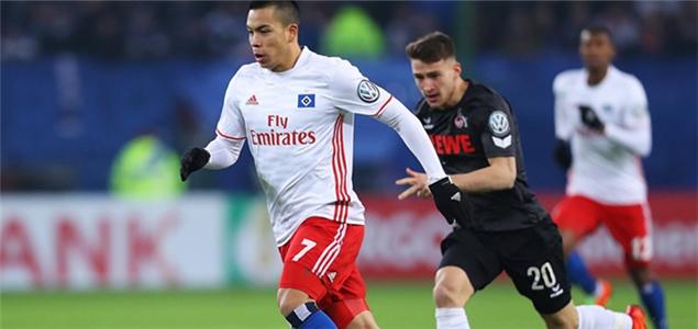 德国杯:汉堡力克科隆晋级,门兴两球淘汰菲尔特