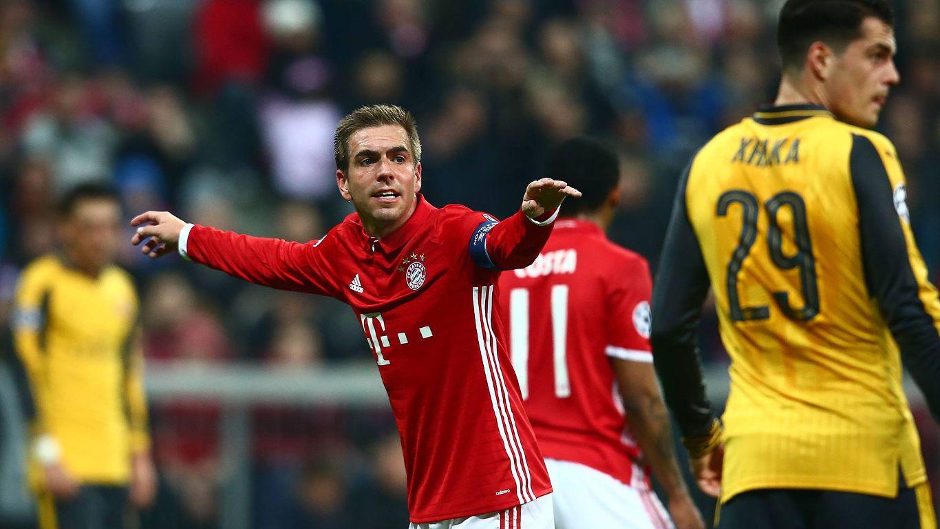 拉姆代表拜仁欧冠出场次数达到103场