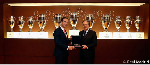 官方:皇马宣布西班牙凯克萨银行成为新赞助商