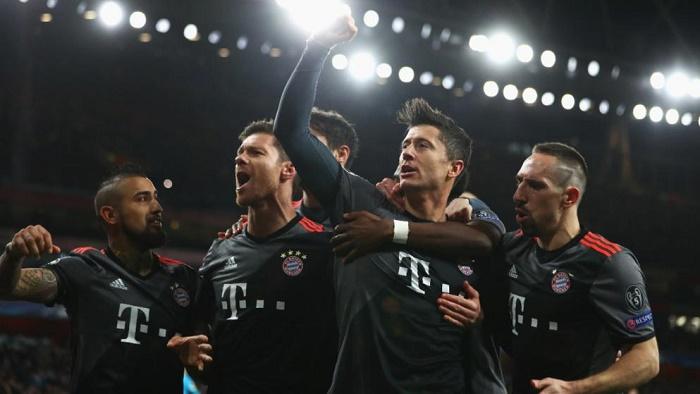 巧合?拜仁慕尼黑连续3次5-1击败阿森纳