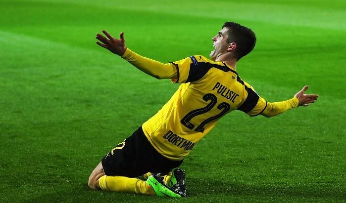 普利西奇创多特欧冠进球最年轻球员纪录