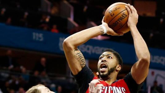 安东尼-戴维斯生涯第2次得到至少45分和20篮板