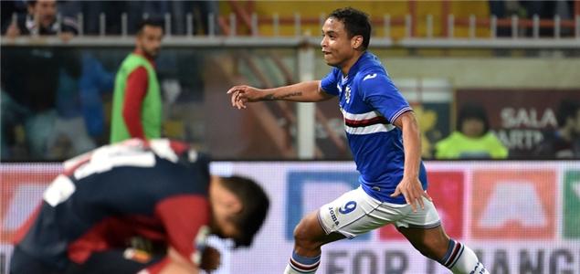 穆里尔制胜破门,热那亚0-1桑普多利亚