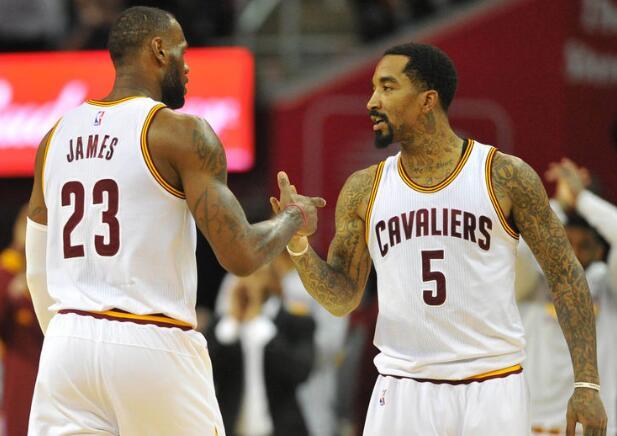 JR-史密斯:我復出以後詹姆斯一直在砍三雙