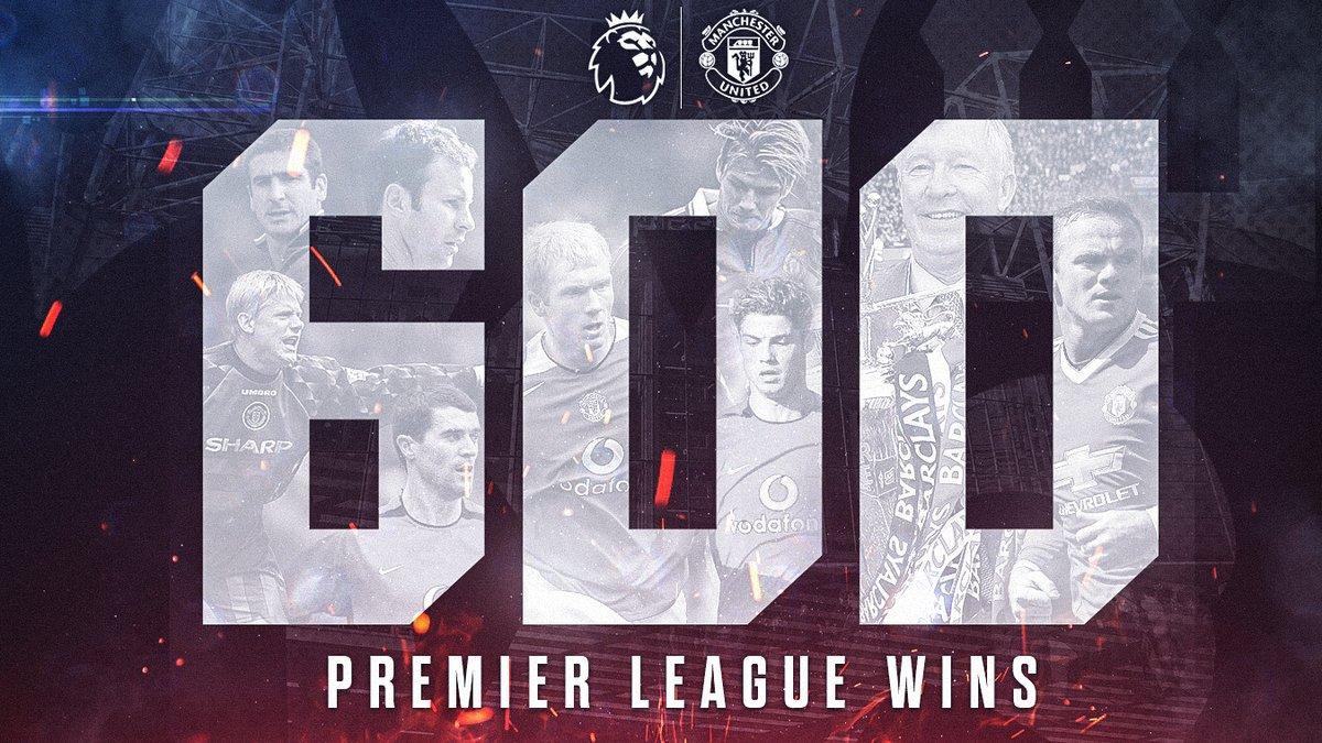 里程碑!曼联成英超首支达成600胜的球队