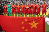 出线形势:与韩国差8分,国足直接晋级希望近破灭