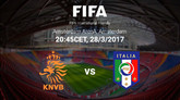 荷兰vs意大利首发:斯特罗曼和维拉蒂领衔