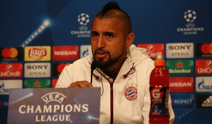 比达尔:希望跟随拜仁获得欧冠冠军