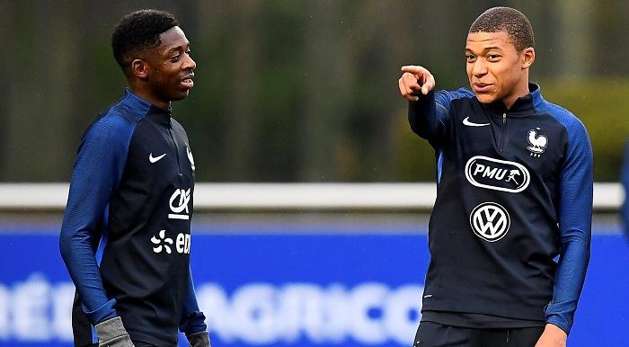 法国妖人猛!欧冠淘汰赛首次两名U20球员同时进球