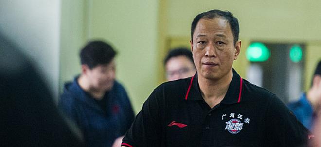 广州队员齐赞新帅崔万军:国家级优秀教练