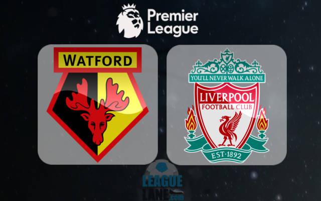 沃特福德vs利物浦首发:迪尼和库蒂尼奥领衔