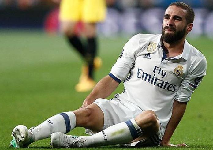 官方:皇马边卫卡瓦哈尔大腿肌肉拉伤,联赛复出无望