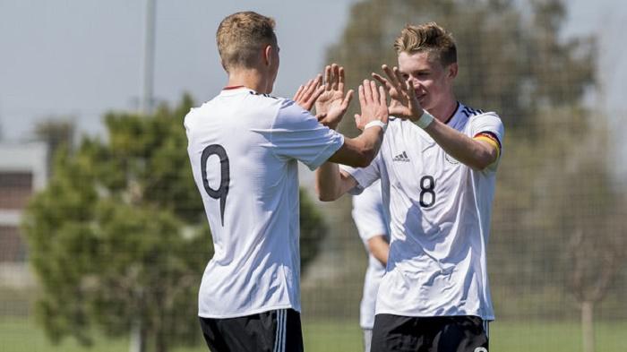 开门红!德国队欧洲U17青年锦标赛五球大胜