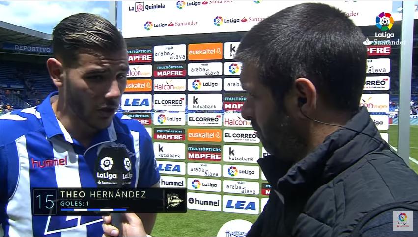 西奥:很高兴能够在阿拉维斯打进西甲首球