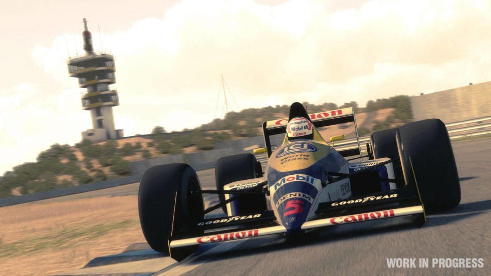 经典赛车将回归最新版F1游戏