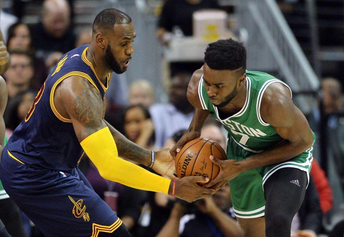 骑士半场41分领先凯尔特人创NBA季后赛纪录