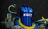 国米推出新赛季球衣:蓝黑经典,条纹宽度不均匀
