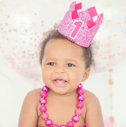 贾马尔-克劳福德祝小女儿一岁生日快乐