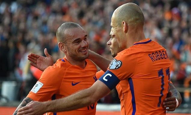 世预赛:罗本斯内德破门,荷兰5-0卢森堡
