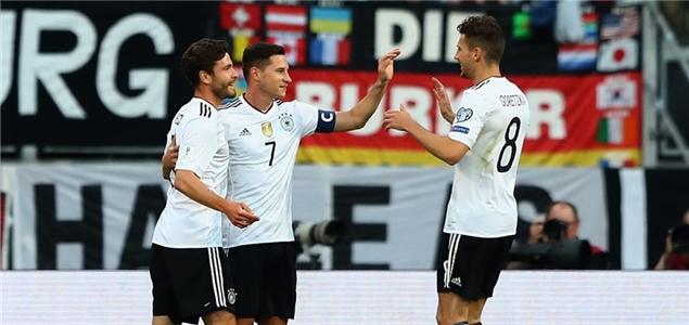 世预赛:瓦格纳戴帽基米希三助攻,德国7-0圣马力诺