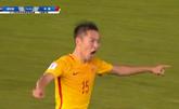 GIF:吴曦破门!国足2-1叙利亚