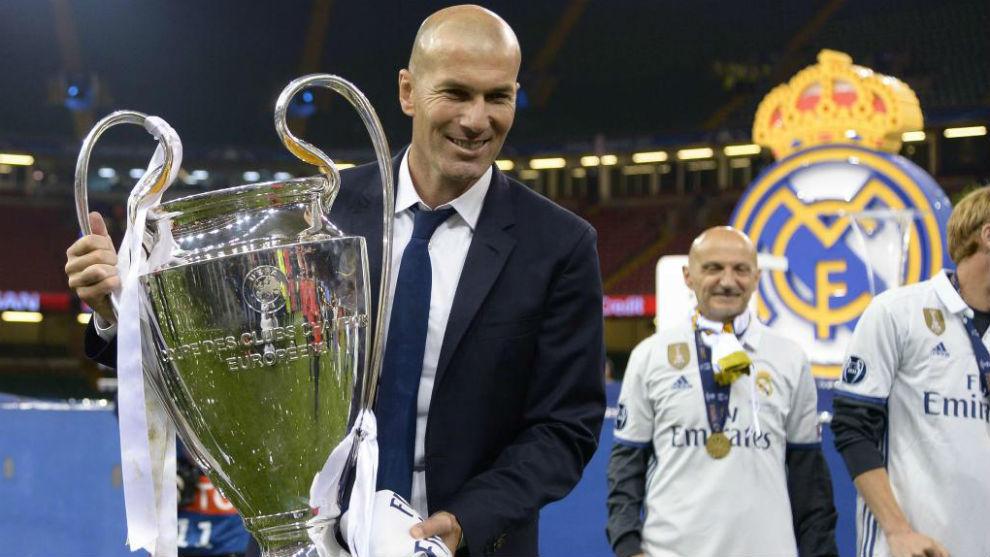 本赛季欧洲最具声望教练排名:齐达内第一
