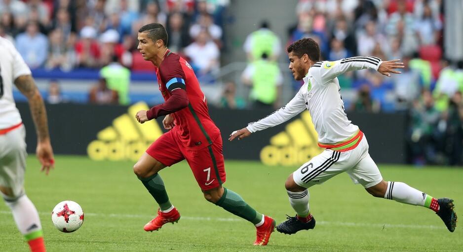 夸雷斯马建功莫雷诺补时救主,葡萄牙2-2墨西哥