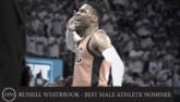 威斯布鲁克入围ESPY最佳男运动员奖提名