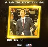 勇士的鲍勃-迈尔斯当选本赛季最佳总经理