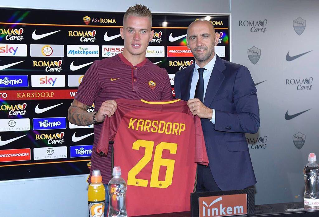 罗马新援卡尔斯多普需要接受一次膝盖小手术
