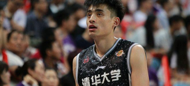 浙江队试训清华大学后卫刘磊,热身赛得到18分