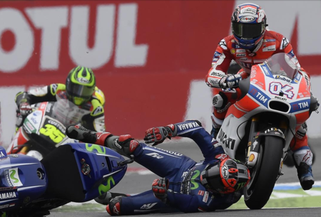 2017 MotoGP半程总结:华丽的摔车大赛