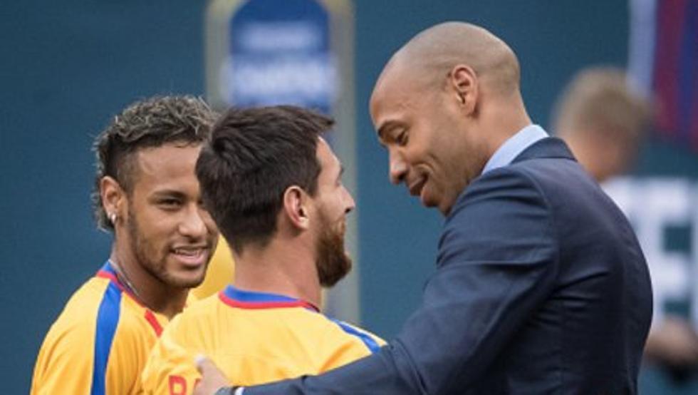 亨利:梅西是一位特别的球员
