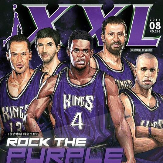 國王曬當年陣容:我們很喜歡這期雜志的封面