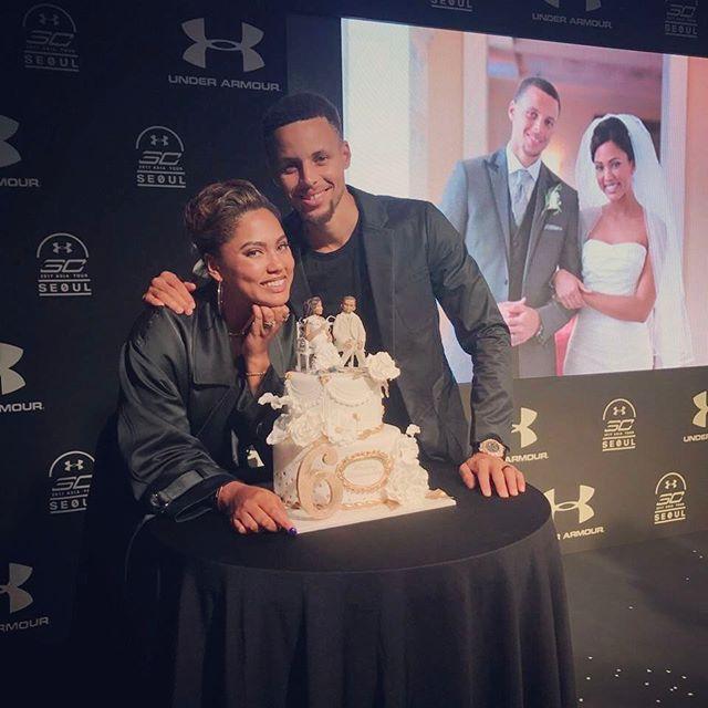 甜蜜!庫裡妻子曬合影慶祝結婚6周年紀念日