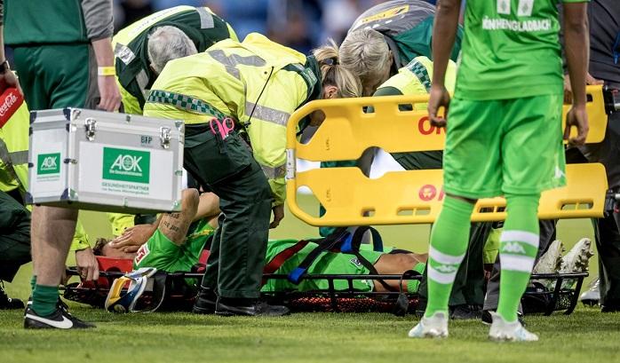 官方:门兴后防多面手膝盖重伤,将接受手术