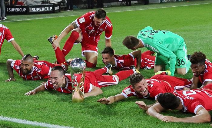 6次捧杯!拜仁超越多特成为获得德国超级杯次数最多球队