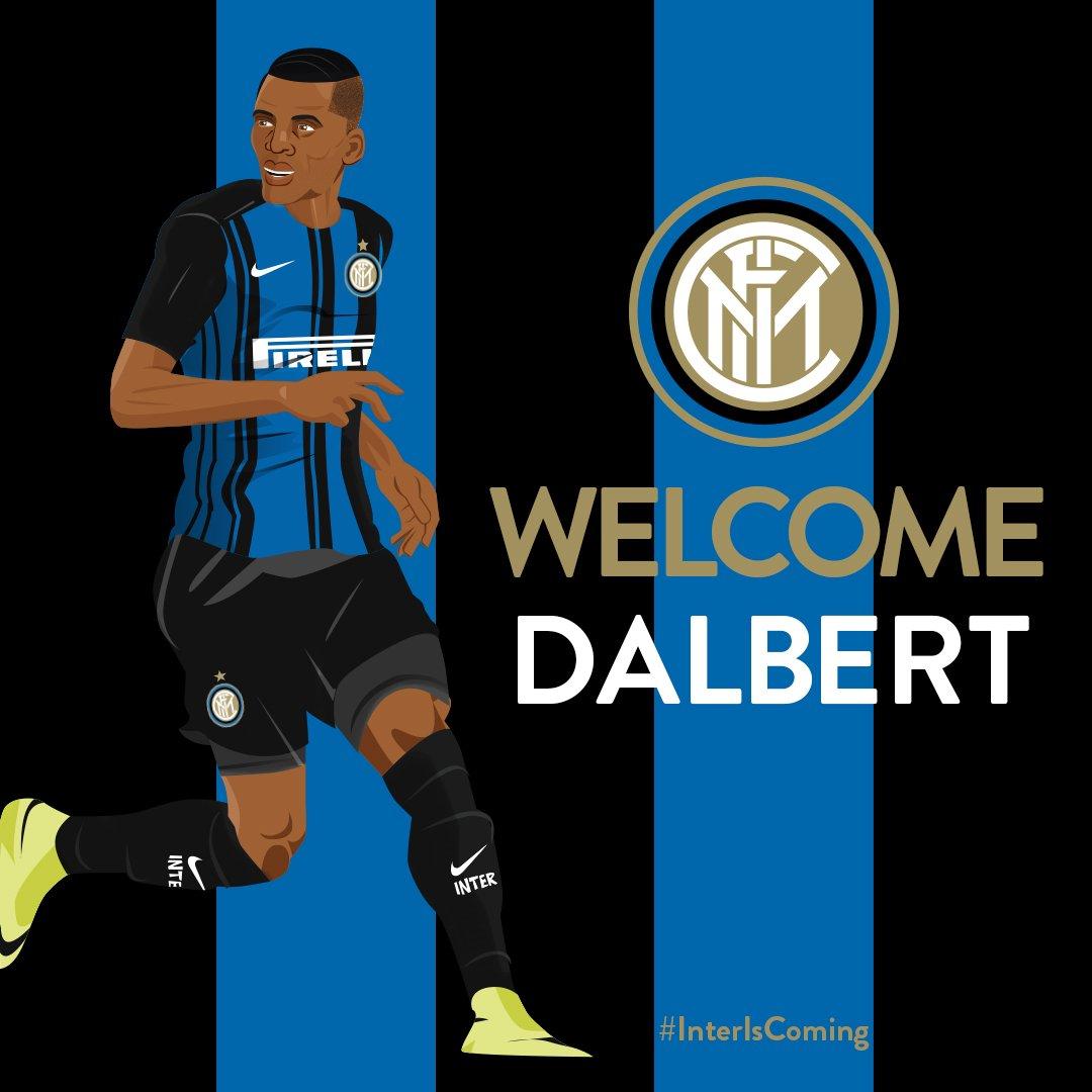 官方:国际米兰签下尼斯边后卫戴尔伯特