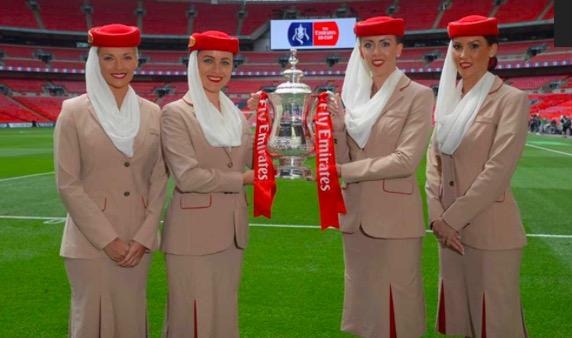 官方:阿联酋航空将冠名足总杯至2021年