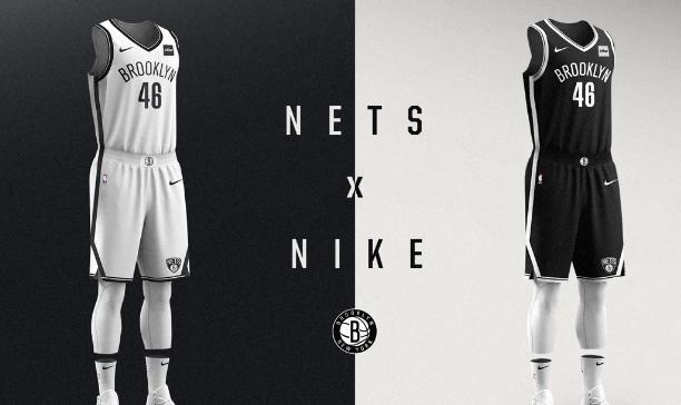 籃網官方正式公佈新賽季新球衣